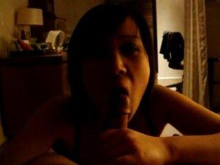 asian dabbler blowjob and titfuck