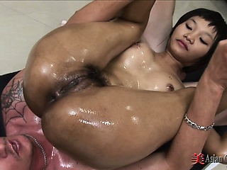 Asian Girls Oiled & Grim