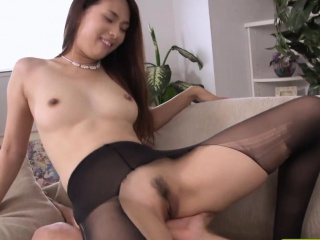 Japanese stockings tot rammed