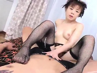 Japanese AV Model has cum with reference to mouth after is nailed overwrought