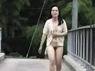 Asian Anal Creampie outdoor