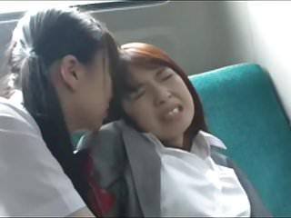 Asian Schoolgirl Has..