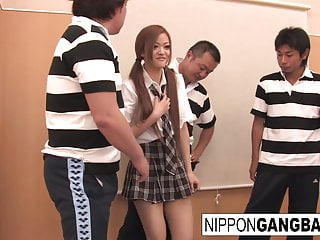 Schoolgirl gets their way..