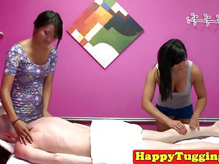 Rub-down asians trudge..