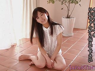 Micro japanese babe in arms..