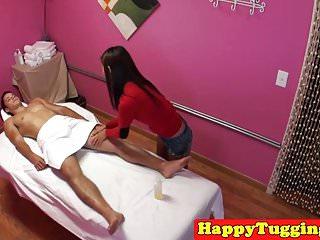 Teeny asian masseuse..