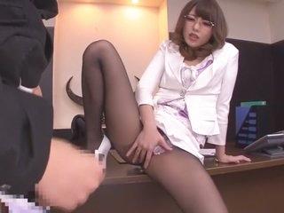 Overcome Japanese floosie..