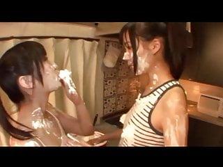 Soaking Japanese Girlfriends