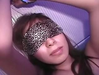 Cute Asian Spoil Blindfolded..