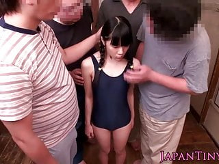 Japanese bukkake teen toyed..