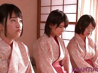 Spanked japanese puberty big..