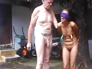 Old padre and his Thai slave
