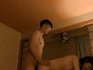 Amateur young Chinese couple..
