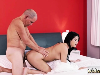 Teen want anal Older gentleman coupled with his princess