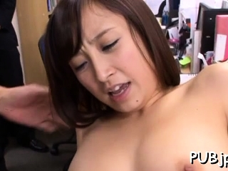 Playsome oriental Ayumi Kimino rides lend substance