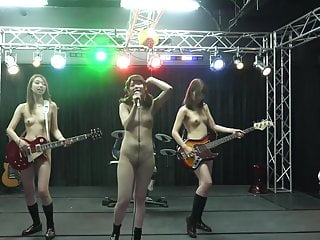 Japanese nude rock group..