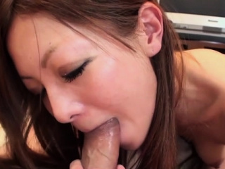 Classy asian minx Anna Mibu gets rammed with joy