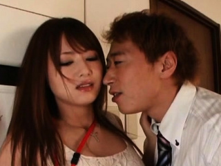 Bring to light oriental beauty in office sex