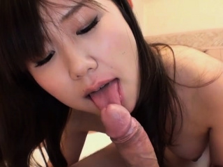 Appealing japanese stimulates her sopping crack with a sextoy