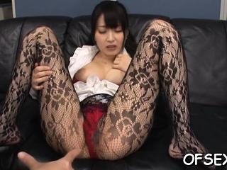 Titbit sweetheart Arisa Misato fucks lucky pal