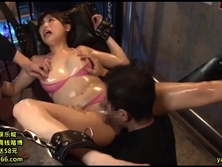 Asian MILF sizzling hot threesome relating to crude couple