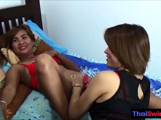 Two real amateur hot Thai..