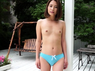 Japanese incomparable outdoor striptease Ian Hanasaki