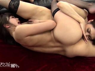 Homo anal babe toying..