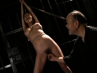 Japanese villeinage hot sex with 18 year old bdsm pussy
