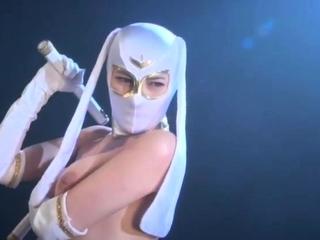 Hot and objurgatory fetish instalment helter-skelter Japanese babe Rinka