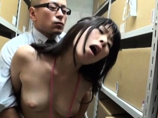 Admirable honey with great tits adores erected love rub in