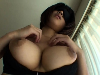 Big Japanese boobs groped in..