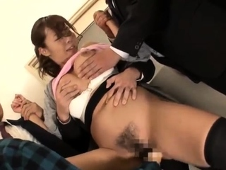 Asian japanese group sex boobs