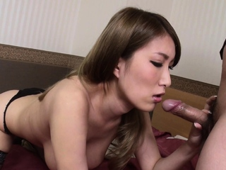 Japanese mistress, Yume Mizuki does will not hear of job, uncensored
