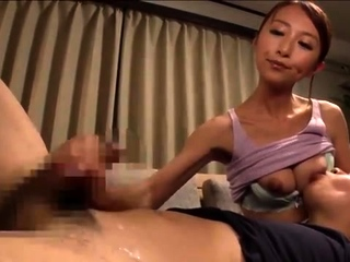 Asian Pool Handjob