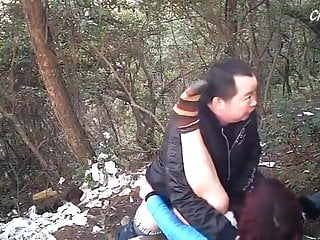 Outdoor Asian MILF Prostitute