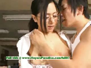 Sora Aoi innocent unfavourable chinese secretary enjoys getting fucked at break time