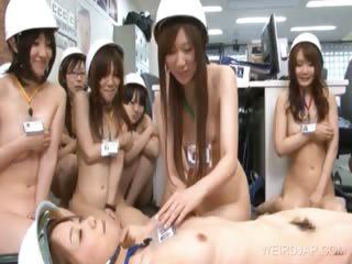 Asian orgy round teen tough..