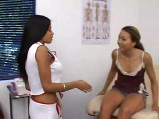 Twosome hot Latina babes law..