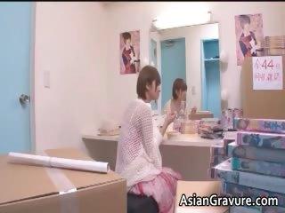 Cute asian at a high sucks..