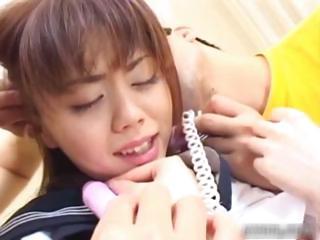 Blistering asian schoolgirl..