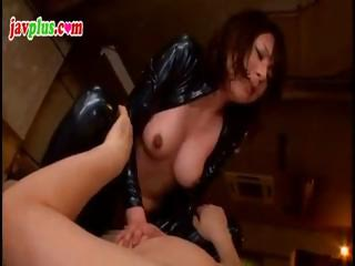 Slutty Asian dutiful gets..