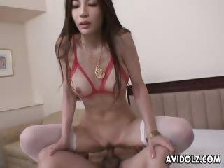 Gorgeous Anri Suzuki anal..