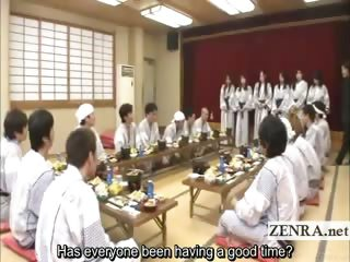 Subtitled Japanese milfs..