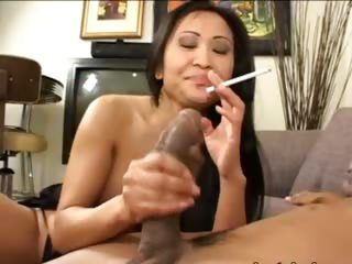tokyo chick having thersitical cock round mouth
